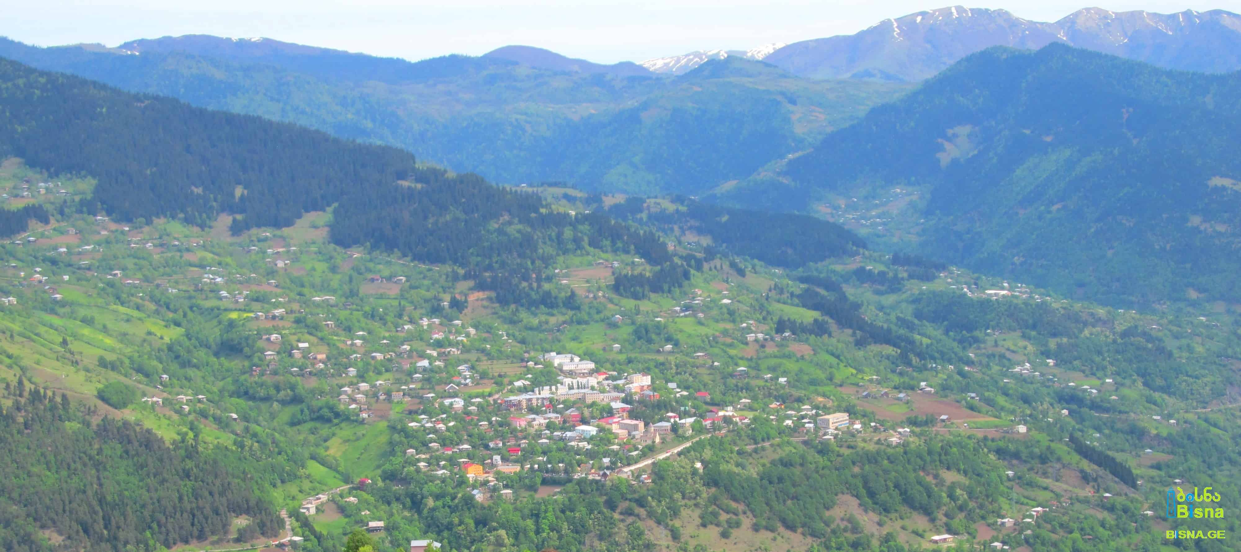 Khulo town and surrounding villages