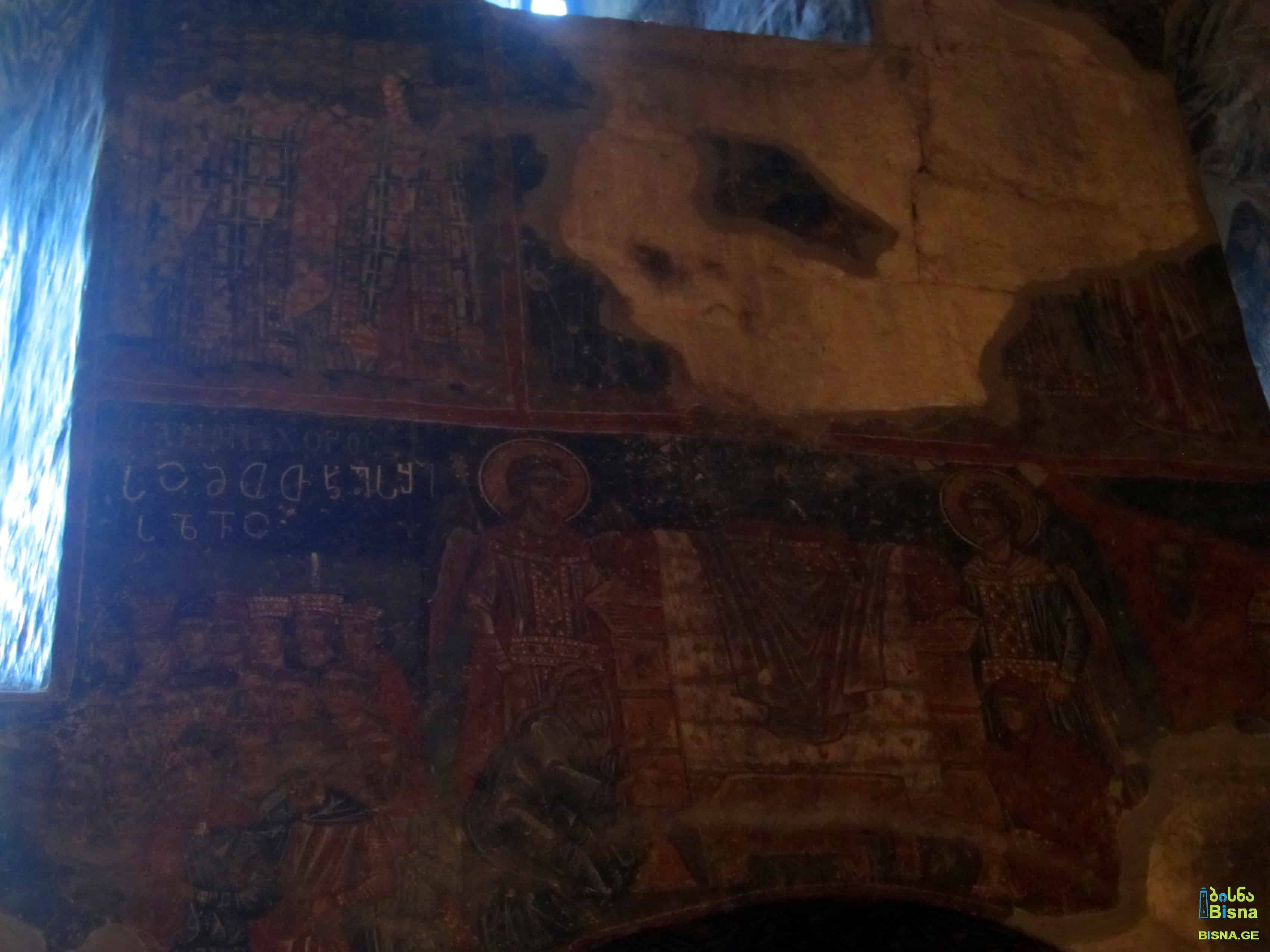 Frescoes in Skhalta Cathedral