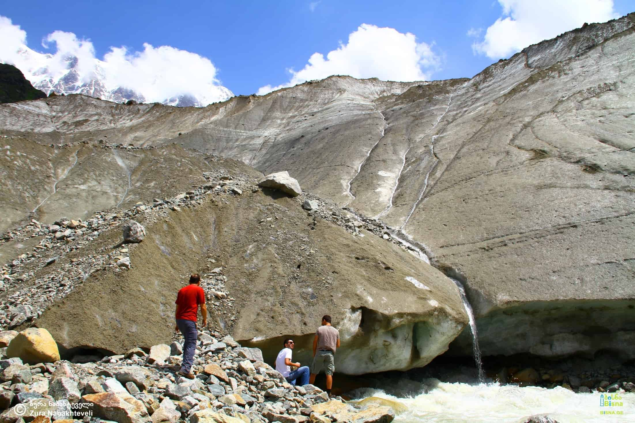 The source of Enguri River